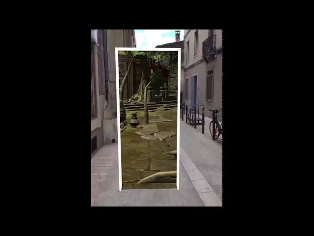 Réalité augmentée (avec ARkit d'Apple)