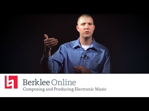 Berklee Online Course Overview: Composing and Producing Electronic Music with Loudon Stearns
