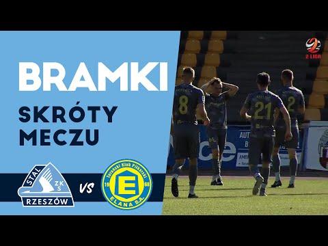 2 liga: Elana Toruń - Stal Rzeszów 1-4 [BRAMKI, WIDEO]