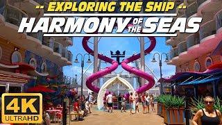 Harmony of the seas - Exploring the ship