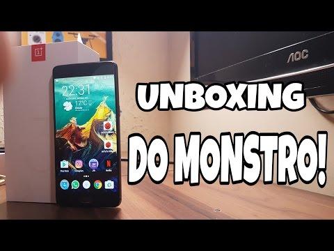 Oneplus 3T: Unboxing e primeiras impressões do MONSTRO
