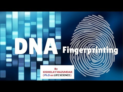 BIOLOGY || DNA PRINTING by KISHOLAY MAZUMDAR
