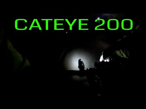 CAT EYE VOLT200XC Night Test
