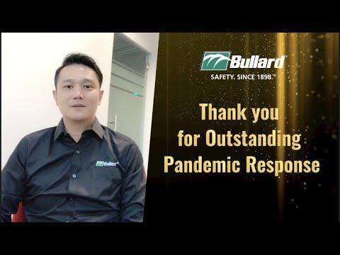 Bullard Outstanding Pandemic Response Recognition
