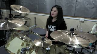 "ARCH ENEMY ""As The Pages Burn"" drum cover by Fumie Abe"