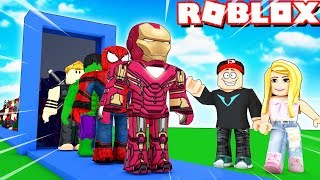 Najlepsi Superbohaterzy Vito I Bella Roblox 2 Player Superhero