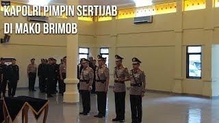 Kapolri Pimpin Sertijab Kadiv Humas Polri dan Kapolda Kepulauan Bangka Belitung di Mako Brimob