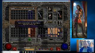Diablo 2 - Fenzy Barb Wielding Grief and Lightsaber 2018