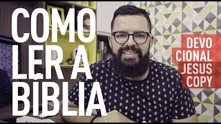 COMO LER A BÍBLIA - Douglas Gonçalves