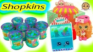 7 Shopkins Exclusive Color Surprise Candy Jar Blind Bags with Kawaii Crush Doll