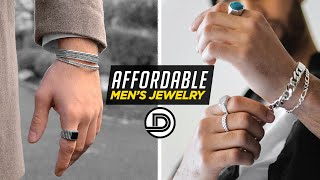 Top 7 Most AFFORDABLE JEWELRY Brands | Men's Fashion + Accessories
