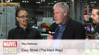 Ron Perlman With a Surprise Visit from Jeff King on Marvel LIVE! at NYCC 2014