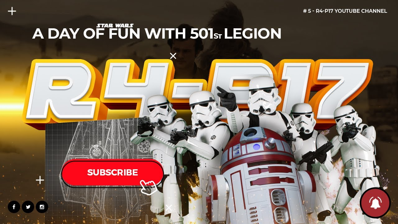 R4-P17 & 501st Legion – Vader's Fist. A day of fun!