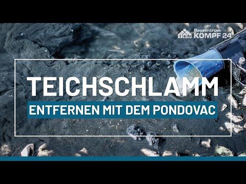 So entfernen Sie Teichschlamm in einem großen Teich | PONDOVAC 5
