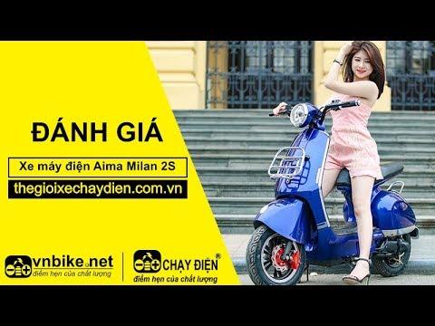 Đánh giá xe máy điện Aima Milan 2S