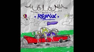 Maluma, Becky G & Anitta   Mala Mía Remix (Audio Oficial)