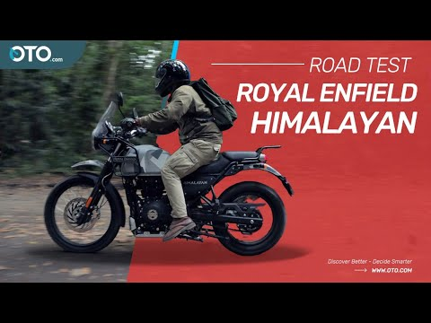Royal Enfield Himalaya, Jalan Sempit Tak Masalah | Cinematic