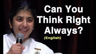 Can You Think Right Always?: Part 3: BK Shivani at Sydney