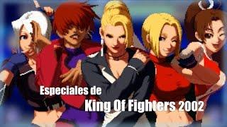 Como hacer los especiales de The King of Fighters 2002 Magic Plus