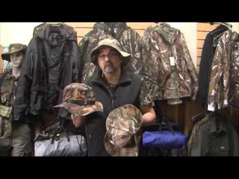 Campinox presenta gorros y sombreros camuflados