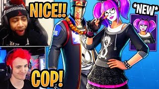 Streamers React to *NEW* Lace and Paradox Skins! - Fortnite Best and Funny Moments