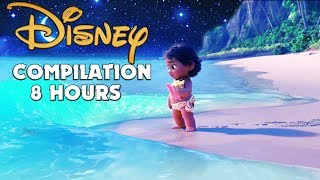 ❤ 8 HOURS ❤ Disney Lullabies Compilation for Babies to go to Sleep to