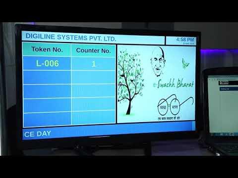 Touch Screen Kiosk - Queue Management System