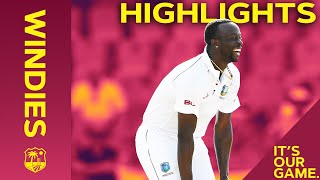 Roach Keeps Hosts in Control at Stumps! | Windies vs India 1st Test Day 1 2019 - Highlights