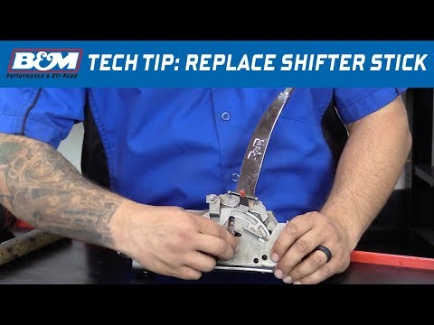 Tech Tip: How to Replace the Shift Stick on B&M Quicksilver Shifters
