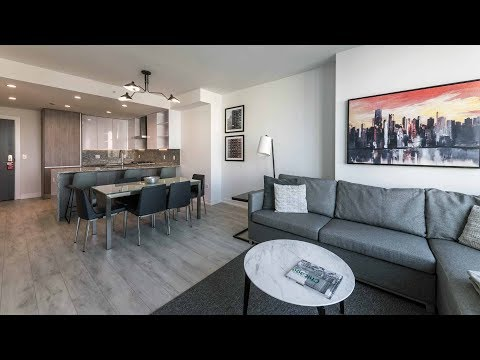 A fully-furnished one-bedroom at the fabulous new Old Town Park