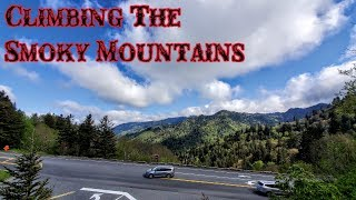 Terrifying Road To Great Smoky Mountain National Park