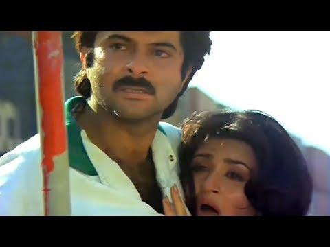 Anil Kapoor gets one year jail   Tezaab   Action Scene 13/20