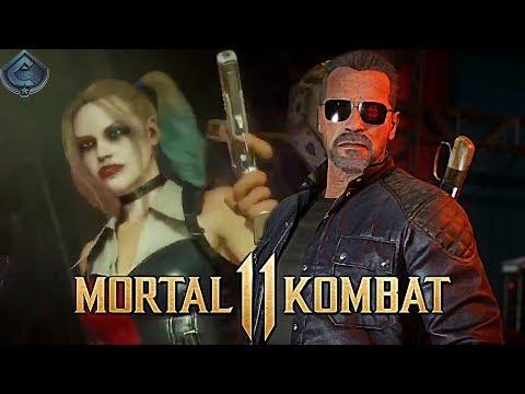 Mortal Kombat 11 - Terminator T-800 Intro Dialogue!