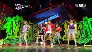 [HD]130502 4Minute   Whatever + What's Your Name - M! Countdown -