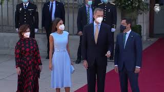 Entrega a Su Majestad el Rey de la primera Medalla de Honor de Andalucía