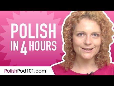 Learn Polish in 4 Hours - ALL the Polish Basics You Need