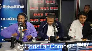 King Combs Freestyle On Sway In The Morning.