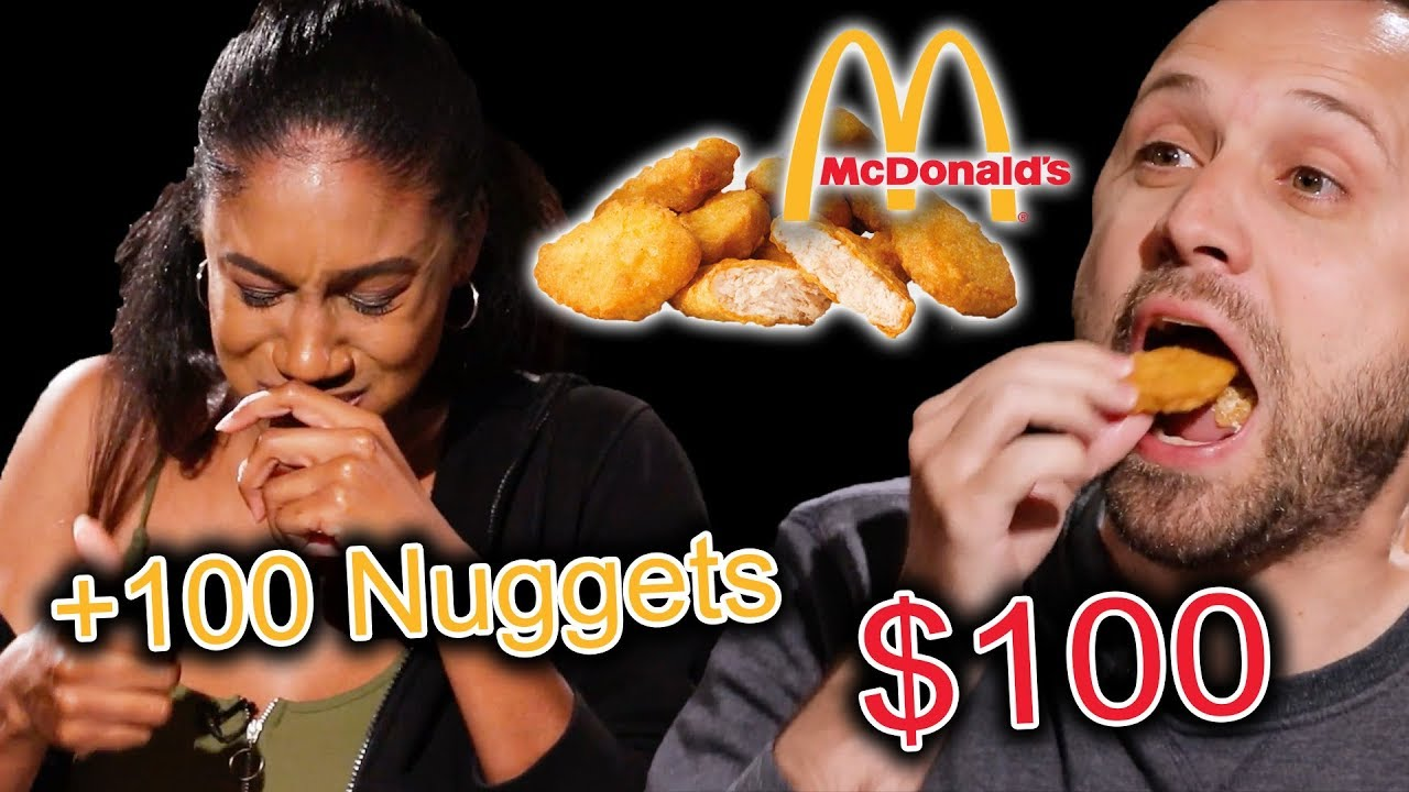 $100 Chicken Nugget Eating Competition thumbnail