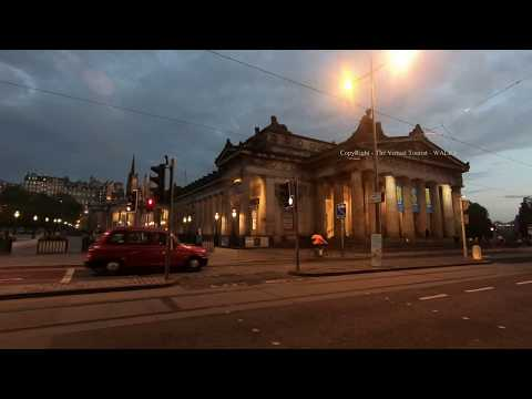 Walk Around Edinburgh City Centre At Night In Scotland Mp3