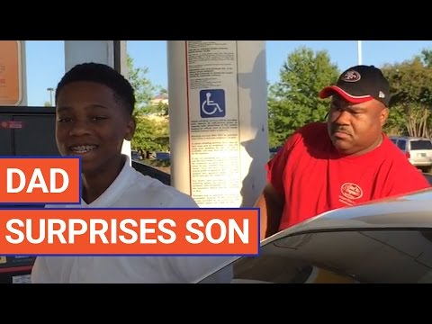 Dad Surprises Son with Homecoming Video 2017   Daily Heart Beat