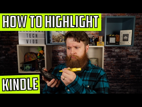How to Highlight on a Kindle Paperwhite