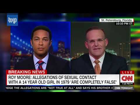 Roy Moore's lawyer makes controversial comments on TV