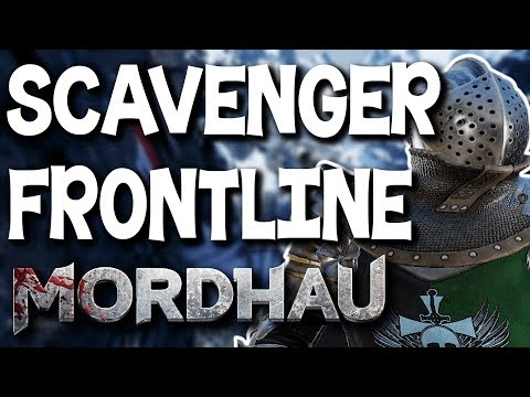 The BEST Frontline Loadout? - Mordhau Frontline Commentary Gameplay