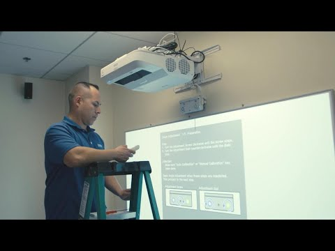 Installation 10: How to Calibrate the Projectors