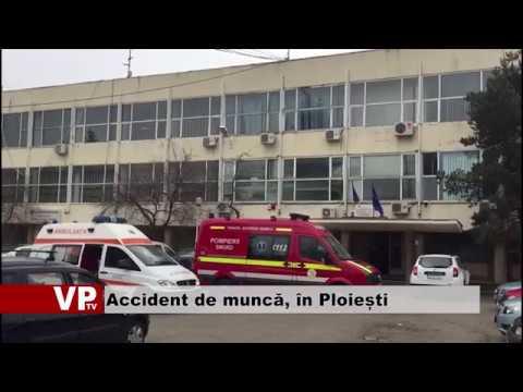 Accident de muncă, în Ploiești