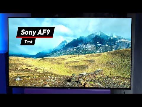 Fernseher mit Android 8: Sony AF9 im Praxis-Test