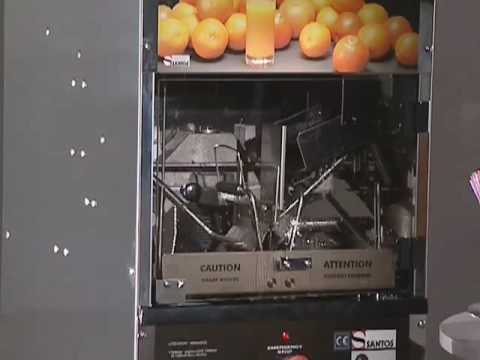 Video Santos - Automatische citruspers - N.32