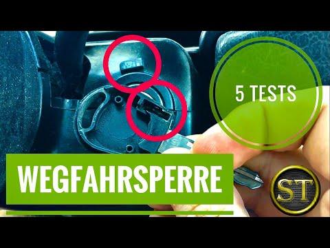 Wegfahrsperre | 5 Tests | VW Polo 6N