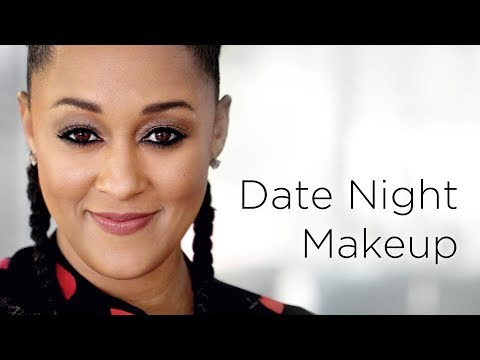Tia Mowry's Glowy Date Night Makeup Look | Quick Fix