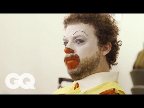 Danny Mcbride And Walter Goggins Fast Food Mascots